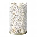 CANDLE HOLDER LUNAR LARGE (THE LONDON COLLECTION) - WHITE