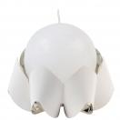 PALEA CANDLE HOLDER - WHITE