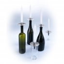BOTTLE CANDLE HOLDER CAPPO
