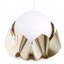 PALEA CANDLE HOLDER - 24K GOLD