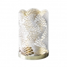 CANDLE HOLDER CELESTIAL (THE LONDON COLLECTION) - WHITE