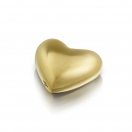 HEART SMALL - BRASS