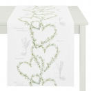 TABLE RUNNER 'LILY OF THE VALLEY' 40x140 CM