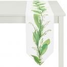 TABLE RUNNER 'LILY OF THE VALLEY' 25x175 CM