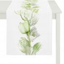 TABLE RUNNER 'GREEN TULIP' 40x140 CM