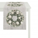 TABLE RUNNER 'CHRISTMAS WREATH' 45x135 CM