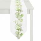 TABLE RUNNER 'GREEN TULIP' 28x175 CM