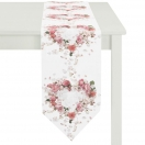 TABLE RUNNER 'ROSES' 28x175 CM