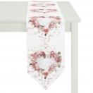 TABLE RUNNER 'ROSES' 28x175 CM