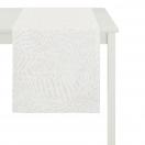 WHITE TABLE RUNNER  48x140 CM