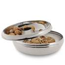 NUT BOWL WITH RECEPTACLE